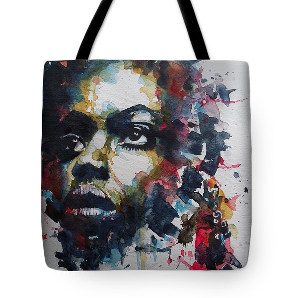 Tote Bag featuring the painting My Baby Just Cares For Me  by Paul Lovering