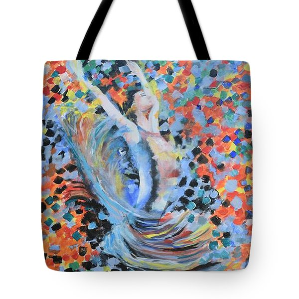 My Ballerina Tote Bag by Gary Smith