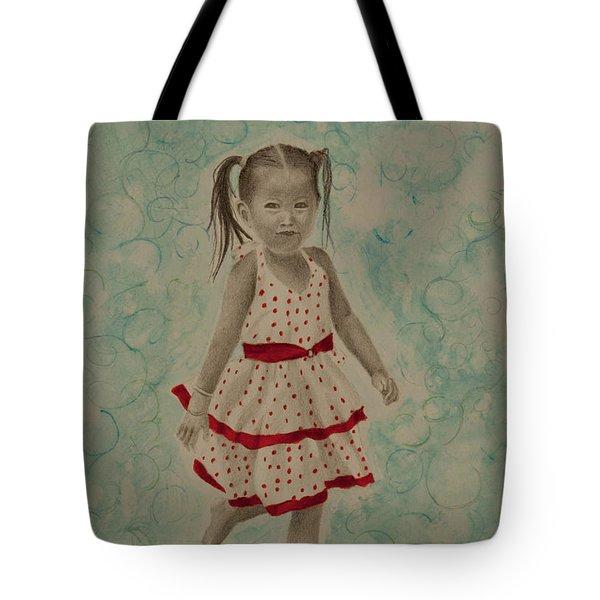 My Best Dress Tote Bag