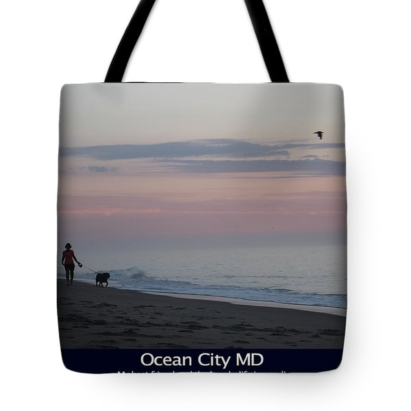 My Best Friend And The Beach Tote Bag