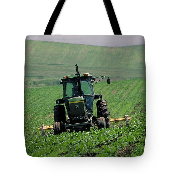 My Big Green Tractor Tote Bag