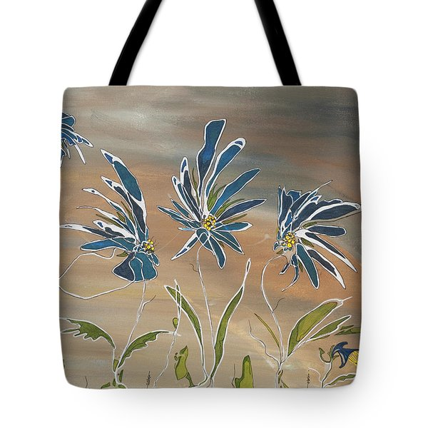 My Blue Garden Tote Bag