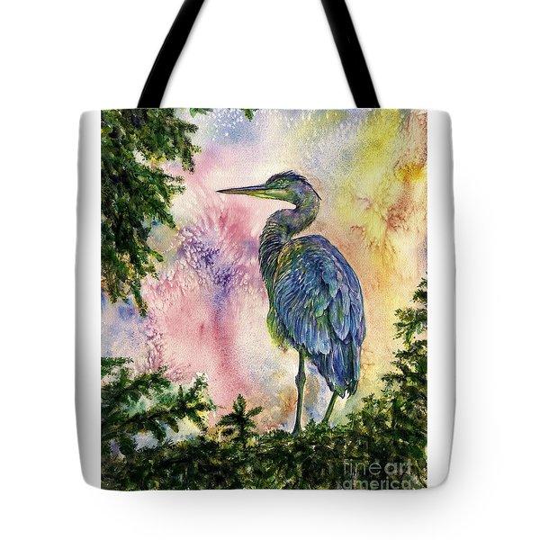 My Blue Heron Tote Bag