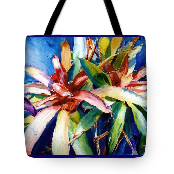 My Bromelias Tote Bag by Estela Robles