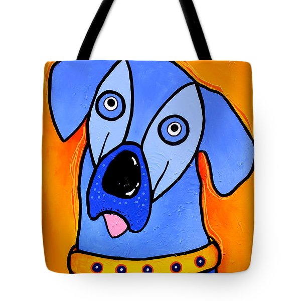 My Brother Is Blue Too Tote Bag by Tim Ross