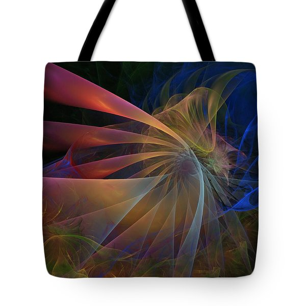 Tote Bag featuring the digital art My Brothers Voice by NirvanaBlues