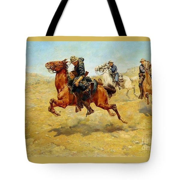 My Bunkie Tote Bag by Pg Reproductions