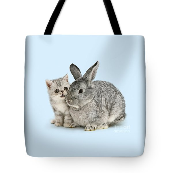 My Bunny Little Friend Tote Bag