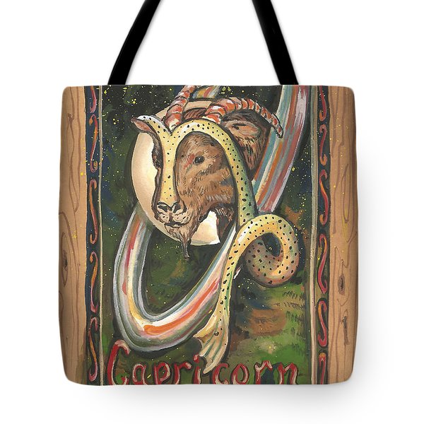 My Capricorn Tote Bag