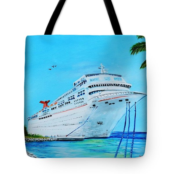 My Carnival Cruise Tote Bag by Lloyd Dobson