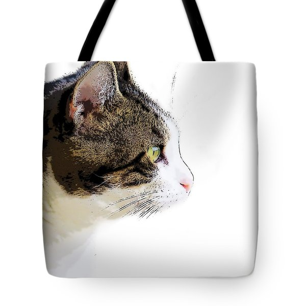 My Cat Tote Bag by Craig Walters