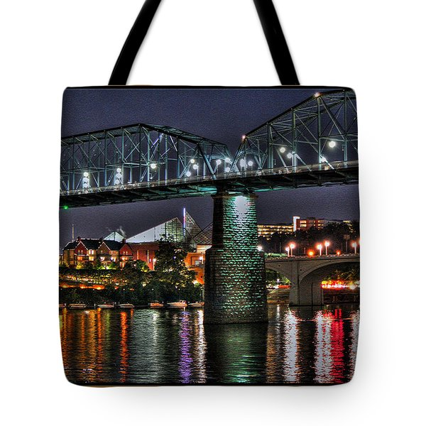 Tote Bag featuring the photograph My Chattanooga by Steven Lebron Langston