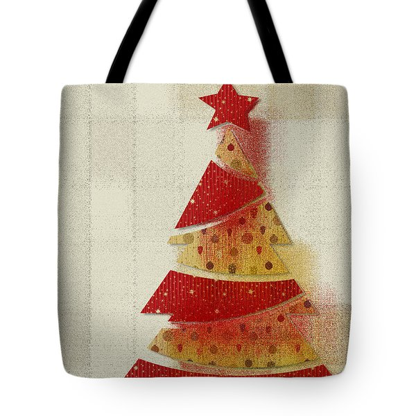 My Christmas Tree 02 - Happy Holidays Tote Bag by Aimelle