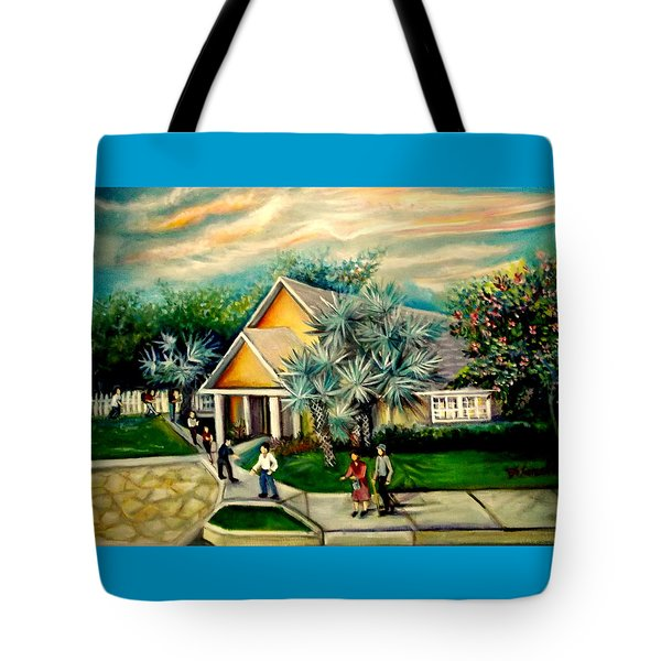 My Church Tote Bag