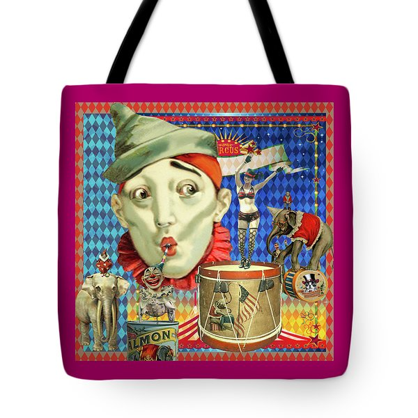 Tote Bag featuring the photograph My Circus by Jeff Burgess