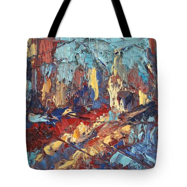 My City Tote Bag by NatikArt Creations