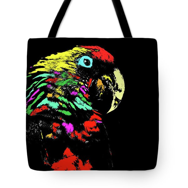 My Colorful Mccaw Tote Bag