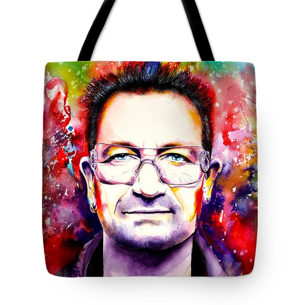 My Colors For Bono Tote Bag by Isabel Salvador