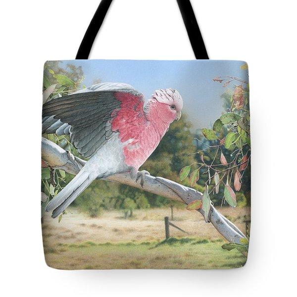 My Country - Galah Tote Bag