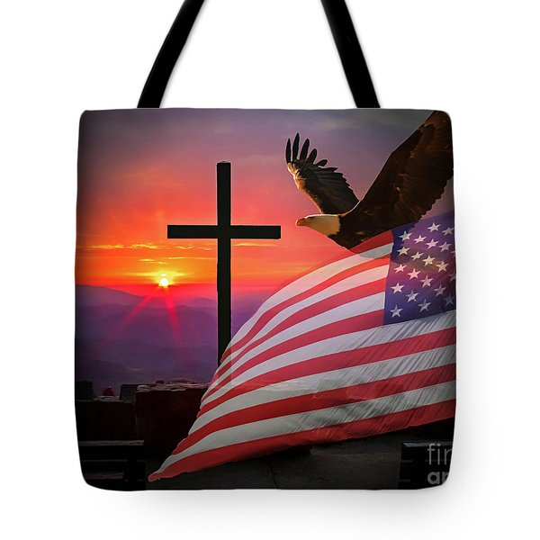 My Country Tote Bag