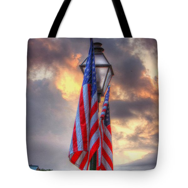 Tote Bag featuring the photograph My Country by Steven Lebron Langston