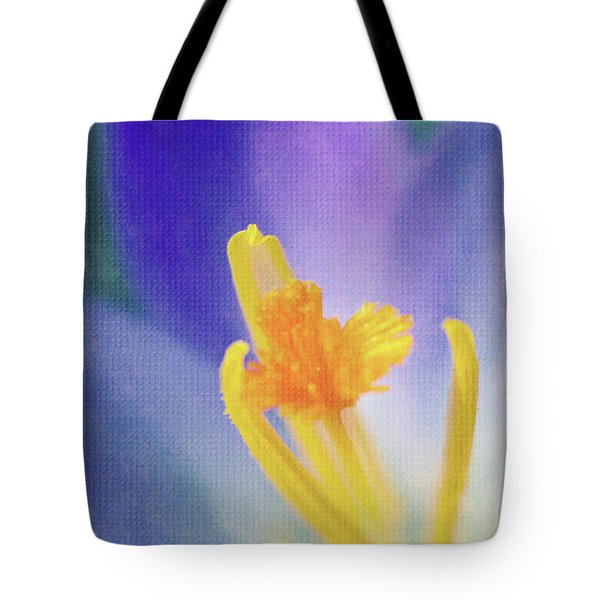 My Crocus IIi Tote Bag by Angela Doelling AD DESIGN Photo and PhotoArt
