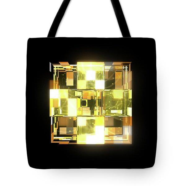My Cubed Mind - Frame 019 Tote Bag
