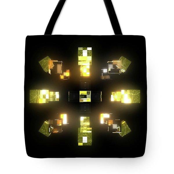 My Cubed Mind - Frame 172 Tote Bag