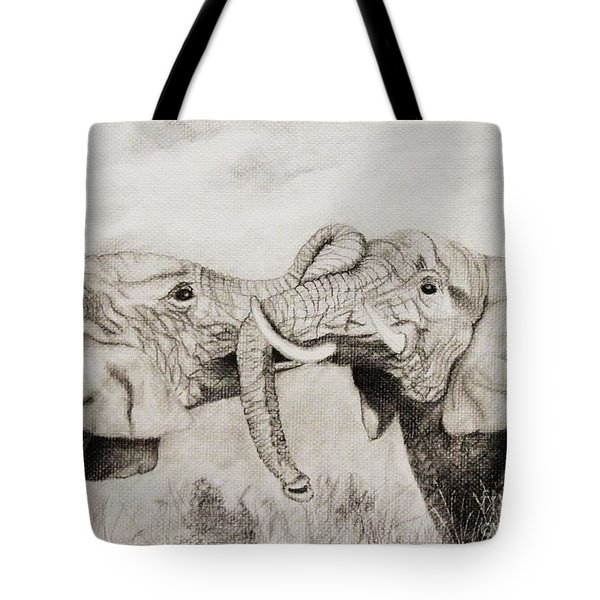 My Dad Is Bigger Than Your Dad Tote Bag by John Stuart Webbstock