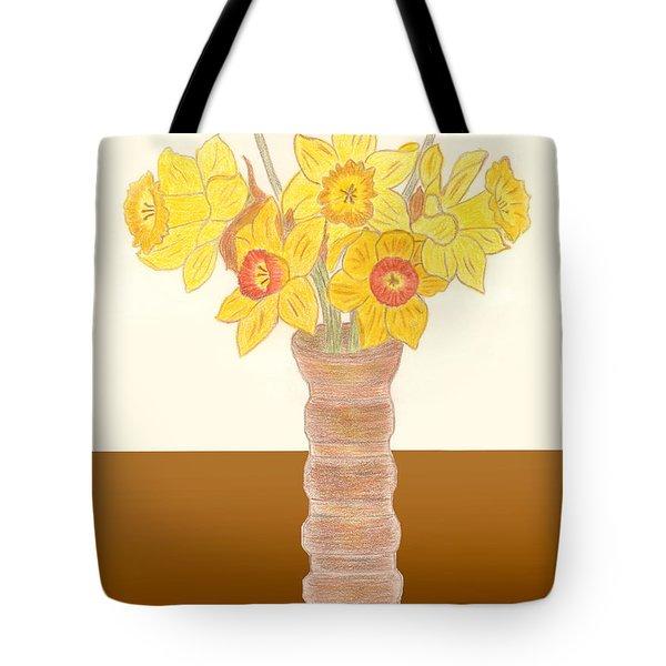 My Daffodils Tote Bag