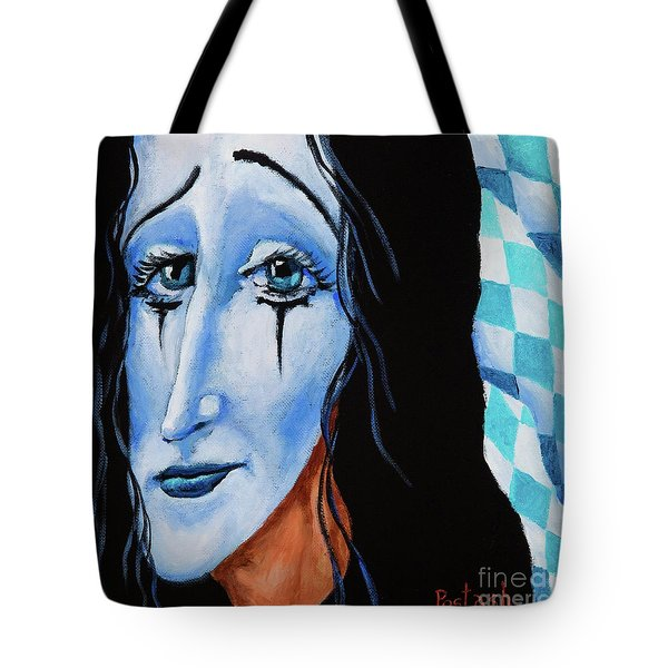 My Dearest Friend Pierrot Tote Bag
