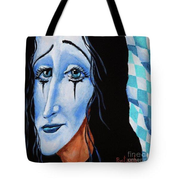 My Dearest Friend Pierrot Tote Bag