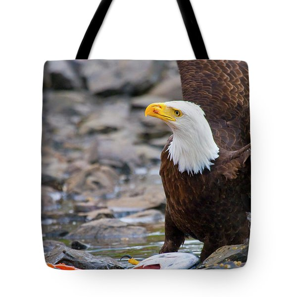 My Dinner Tote Bag by Mike  Dawson