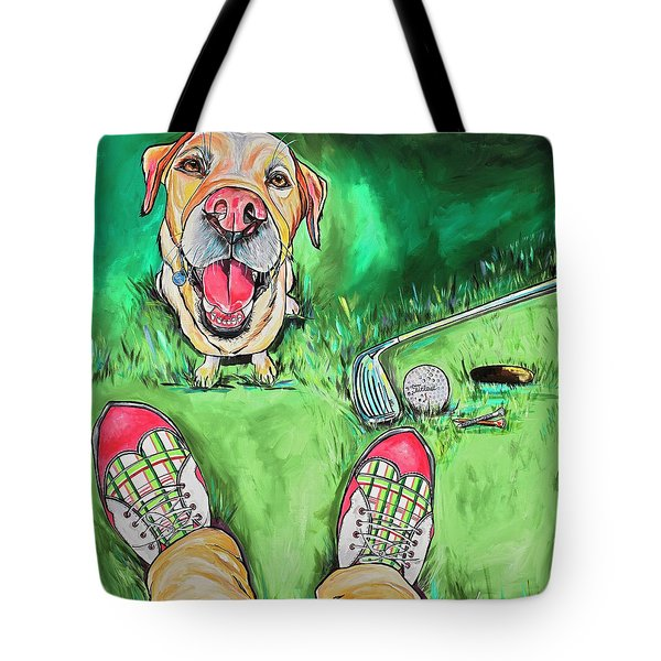 My Dog Putter Tote Bag