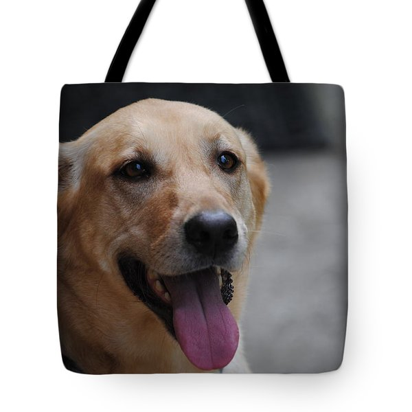My Dog Ubu Tote Bag by Eric Liller