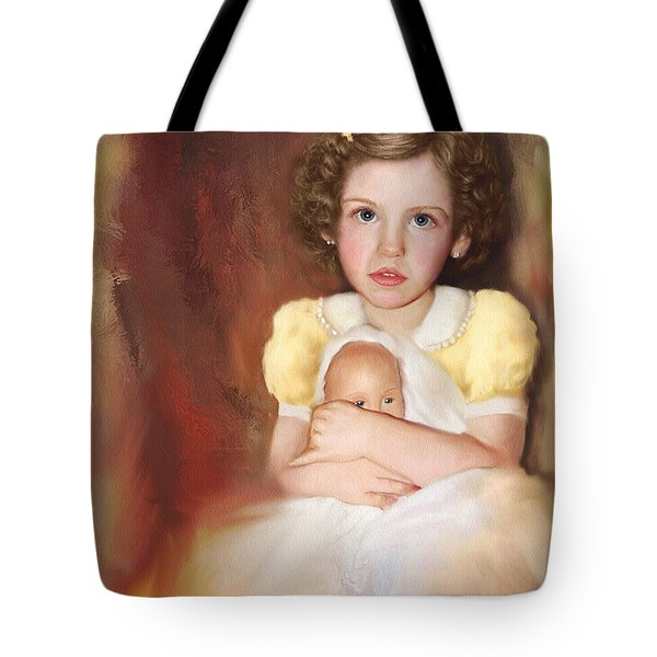 Tote Bag featuring the photograph My Dolly by Bonnie Willis