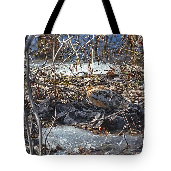 My Easter Woodcock Tote Bag