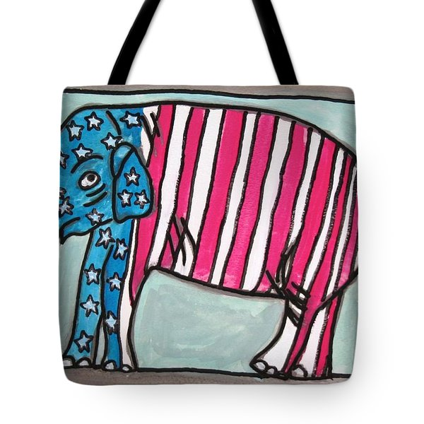 My Elephant Tote Bag