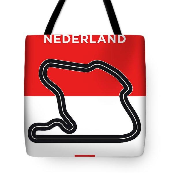 My F1 Zandvoort Race Track Minimal Poster Tote Bag