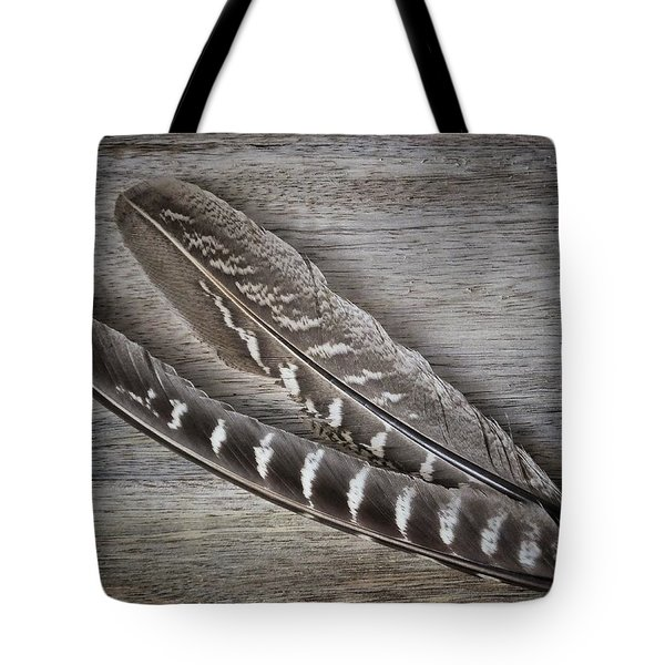 My Fabulous Feathery Find. Tote Bag by Karen Stahlros