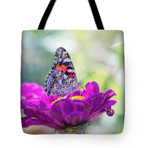 My Fair Painted Lady Tote Bag