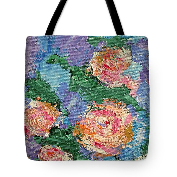 My Father's Roses Tote Bag