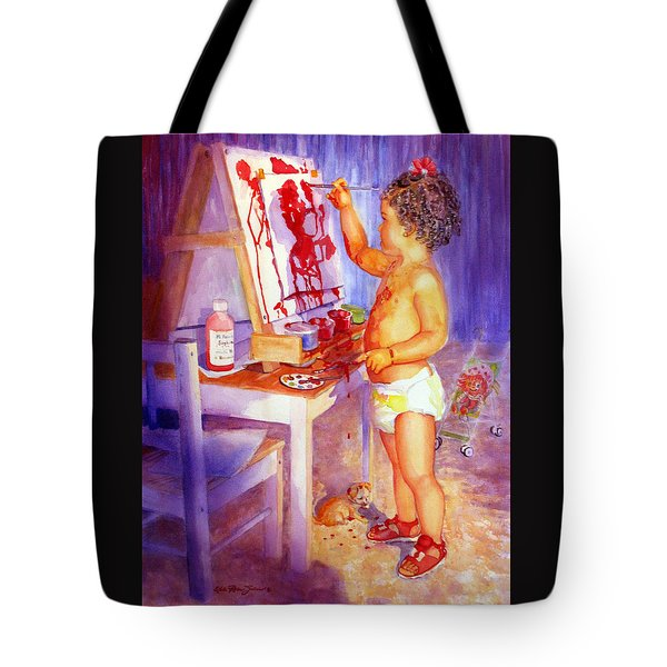 My Favorite Painter Tote Bag by Estela Robles