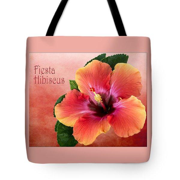 My Fiesta Hibiscus Tote Bag