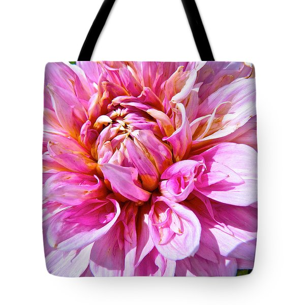 My First Dahlia Tote Bag