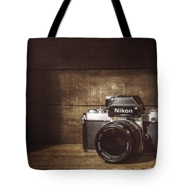 My First Nikon Camera Tote Bag