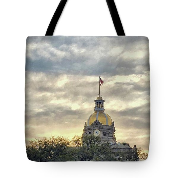 My First Time In #savannah And It Sure Tote Bag