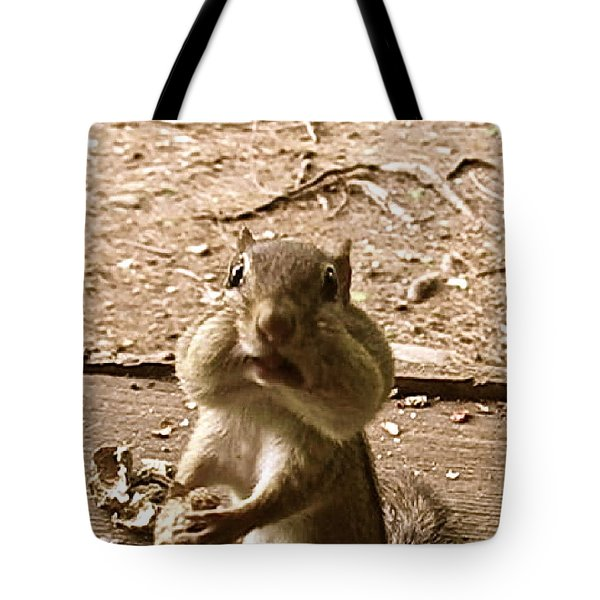 Tote Bag featuring the photograph My Friend Mumpy  by Cliff Spohn
