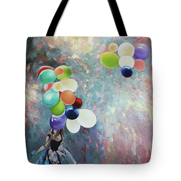 My Friend The Wind. Tote Bag