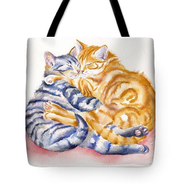 My Furry Valentine Tote Bag